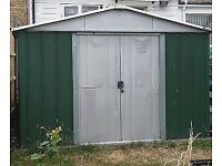 "Metal Yard Master shed 9"" x 8"""