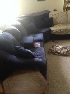 Sectional with Hide-a-bed