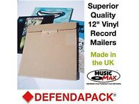 "50 MusicMAX strong locktab CARDBOARD 12"" LP RECORD MAILERS vinyl Album"