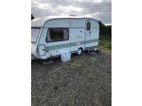Cotswold windrush 15/2.s touring caravan