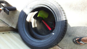 Pair of 235/60r18 Pirelli snow tires for sale, lots of thread,