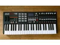 Akai Mpk49 midi controller / keyboard