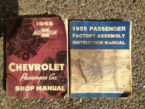 55 Chev shop & assembly manuals