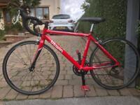 Btwin Triban 3 Carbon Fibre Road Racing Bike RRP £350 not Trek Boardman Specialized Mekk