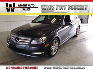 2013 Mercedes-Benz C-Class 4MATIC SUNROOF LEATHER 71,124 KMS
