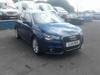 2014/14 Audi A1 1.4 TFSI DSG AUTOMATIC PADDLE SHIFT 1 YEAR MOT