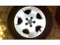 4x alloy wheels for vw, Audi, skoda etc