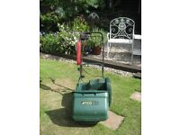 Atco Windsor 14 inch QX electric self propelled cylinder mower