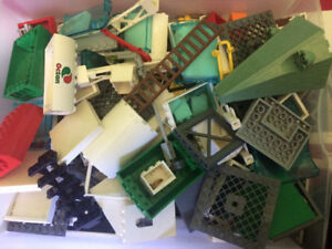 Lego Miscellaneous building parts.