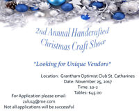 Handcrafted Christmas Craft Show