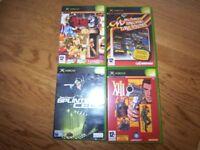 XBOX Origional Games.