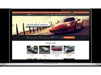 Car dealership website – Fleet Management System, Website, Management panel, phone app, own branding