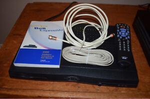 Décodeur Bell modèle 3100 avec télécommande