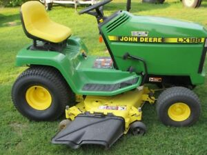 John Deere  riding mower