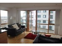 Nice large 2 bed flat at Leeds Dock (balcony) from Aug 12th-Sep 30th £5-600pcm per room inc. bills