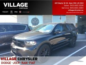 2016 Dodge Durango R/T|BLACKTOP|TECH PKG|PWR SUNROOF|LEATHER