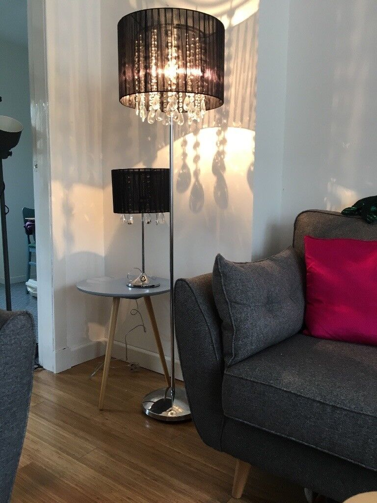 Next Floor Lamp And Matching Table