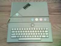 atari xe gaming system + computer made in 1987