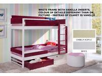 Bunk Bed ATURI, Children Bedroom Twin Sleeper