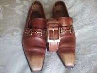Brown Cerruti shoes + Cerruti belt same color