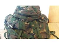 military 30 litre patrol pack. used once.