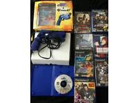 Ps1& ps2 laser gun and game bundle