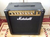 Marshall MG15DFX Electric Guitar Amplifier with onboard digital effects ( amp )