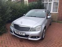 Pco car Mercedes C CLASS 12reg just 140 pw uber ready to rent