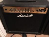 Marshall MG30FX 30 Watts Guitar Combo, Features a 10-inch speaker
