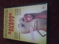 Sausage Party DVD for sale.