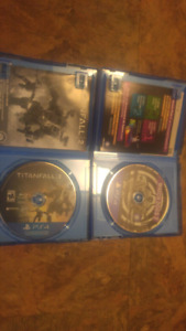 Titanfall2 and watchdogs 2 (ps4)