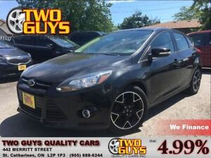 2013 Ford Focus SE HTD LEATHER ALLOYS 2.0L TURBO