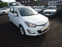 2014 HYUNDAI I20 FULL MAIN DEALER SERVICE HISTORY COME WITH 3 M NATIONWIDE WARRANTY ONLY 25K MILEAGE