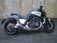 Hi, selling my mint 2013 Yamaha Vmax 1700cc. bought from Charles Hursts' last year,very low miles.