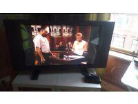 37inch plasma TV plus freeview box set