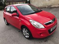 2012 HYUNDAI I20 COMFORT 1.2 PETROL 5 DOOR HATCHBACK IN STUNNING RED