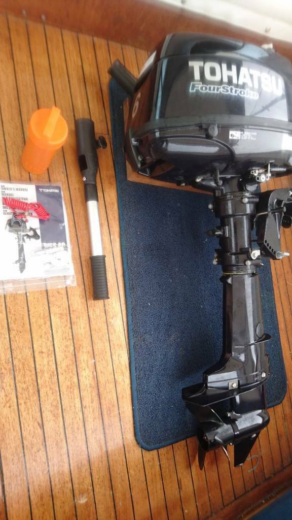 Tohatsu 6hp outboardin Hartlepool, County DurhamGumtree - Tohatsu 6hp 4 stroke outboard.Short shaft14 months old, 5 hours use in as new condition
