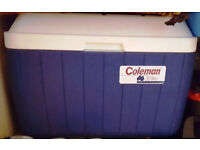 Genuine Australian Coleman 38lt cool box. Tough plastic. Very robust.