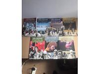 Walking dead graphic novels vol 1-7