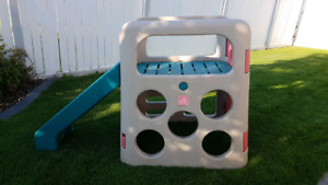 SOLD Step 2 kids outdoor play center and slide