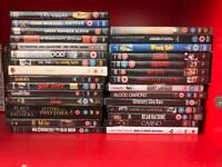 Job lot of 68 EXCELLENT movies on DVD (Must go by 12 August 2017)
