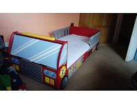 Car bed for a boy
