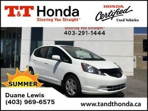 2013 Honda Fit LX *Local Car, USB, Great On Gas!*