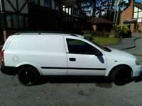 Vauxhall Astra van crew cab 1.7cdti envoy