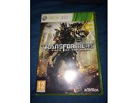 Transformers dark of the moon Xbox 360 game