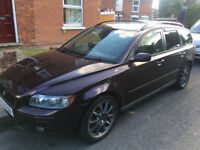 Volvo v50 2.0D 2004 fully loaded spares or repairs