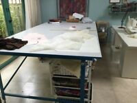 Cutting/ work table size 3m X 1.5 m