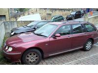 2003 Rover Estate Diesel Club CDT Tourer 2L 1951cc 5 Door 03 Reg