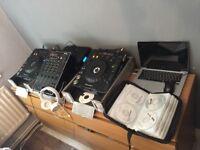Pioneer cdj 1000s + mixer