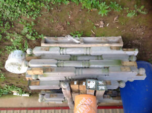 25 colonial pressure treated posts